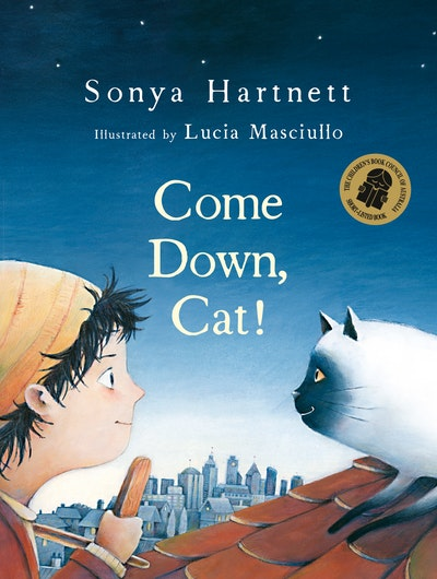 Book Cover:  Come Down Cat!