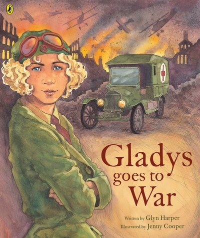 Book Cover:  Gladys Goes To War