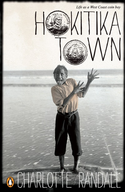 Book Cover:  Hokitika Town