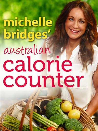 Book Cover:  Michelle Bridges' Australian Calorie Counter