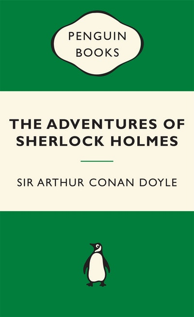 Book Cover: The Adventures of Sherlock Holmes: Green Popular Penguins