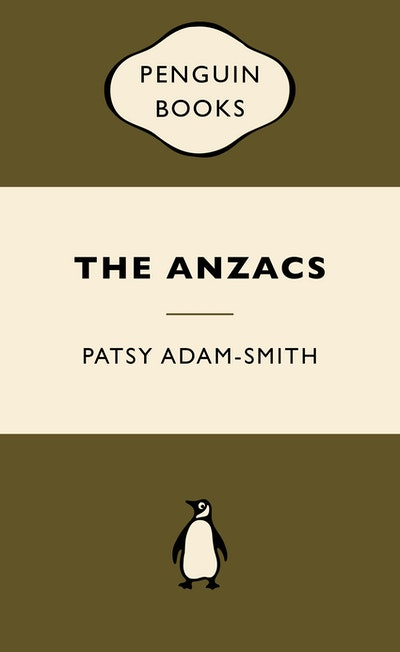 Book Cover: The ANZACS: War Popular Penguins