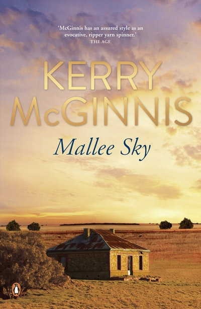 Book Cover:  Mallee Sky