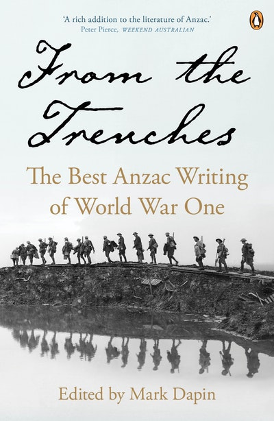 Book Cover:  From the Trenches: the best ANZAC writing of World War One