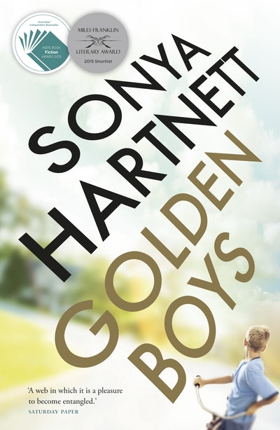 Book Cover:  Golden Boys
