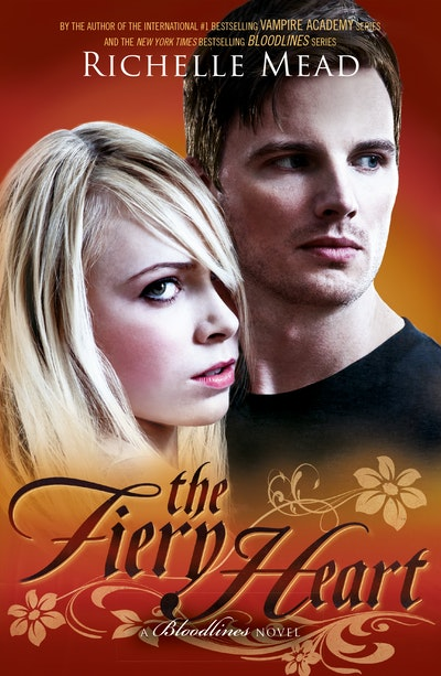 Book Cover: The Fiery Heart: Bloodlines Book 4