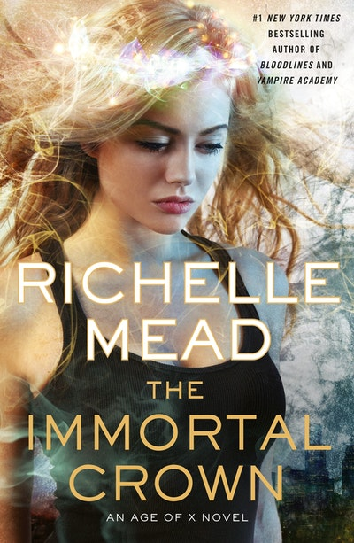 Book Cover: The Immortal Crown: Age of X Book 2