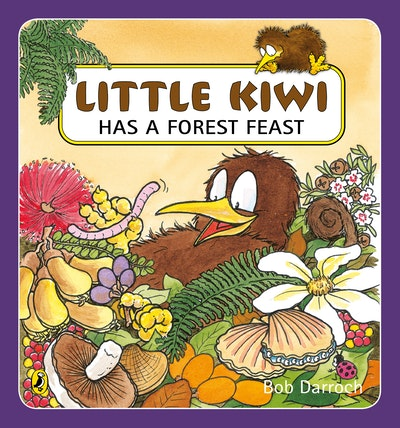 Little Kiwi Has a Forest Feast
