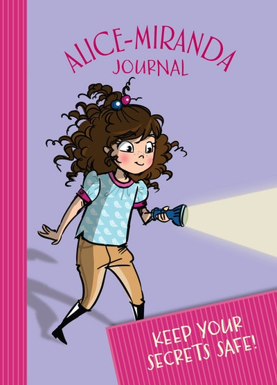 2017 Alice-Miranda Journal with lock and key by Jacqueline Harvey