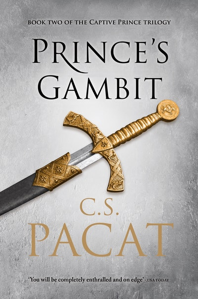 Book Cover:  Prince's Gambit: Book Two of the Captive Prince Trilogy