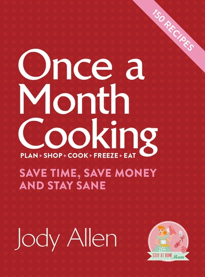 Book Cover:  Once a Month Cooking