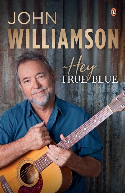 Book Cover:  Hey True Blue
