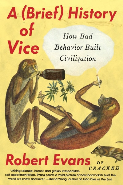 Book Cover: A Brief History Of Vice