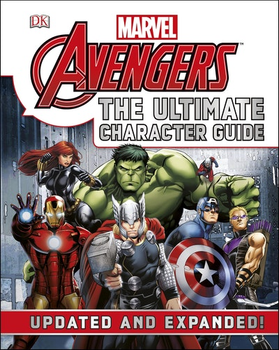 Book Cover:  Marvel Avengers: The Ultimate Character Guide: Updated and Expanded