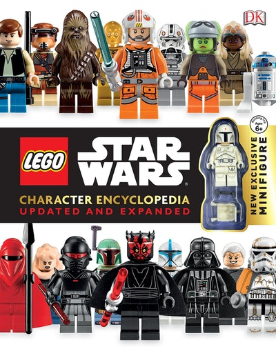 Book Cover:  LEGO® Star Wars: Character Encyclopedia