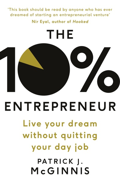 Book Cover:  10% Entrepreneur, TheJob, The