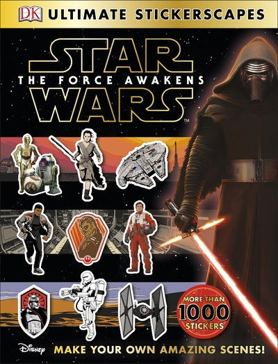 Book Cover:  Star Wars: The Force Awakens: Ultimate Stickerscapes