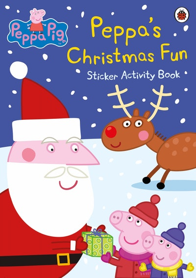 Peppa Pig: Peppa's Christmas Fun Sticker Activity Book