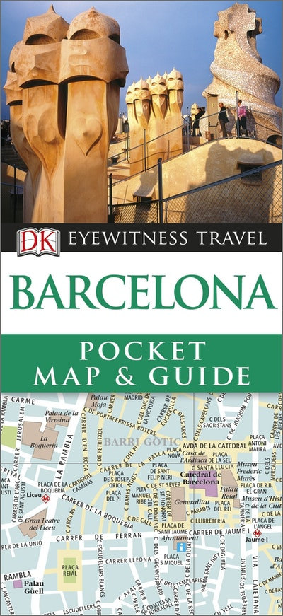 Barcelona: Eyewitness Pocket Map And Guide