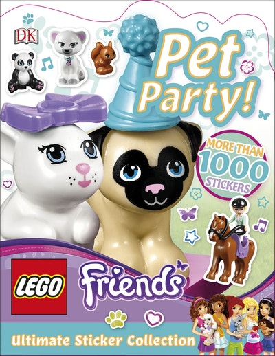 LEGO® Friends: Pet Party Ultimate Sticker Collection