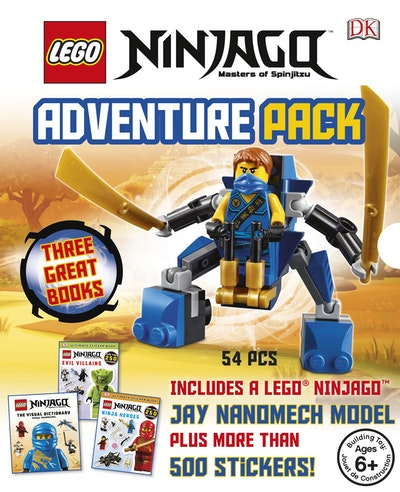 Book Cover:  LEGO® Ninjago: Adventure Pack