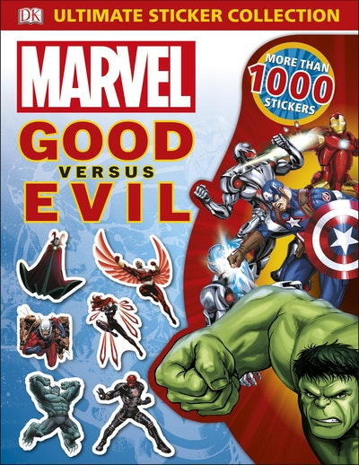 Marvel: Good Vs Evil Ultimate Sticker Collection