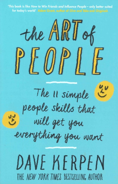 Book Cover:  Art Of People, TheEverything You Want, The