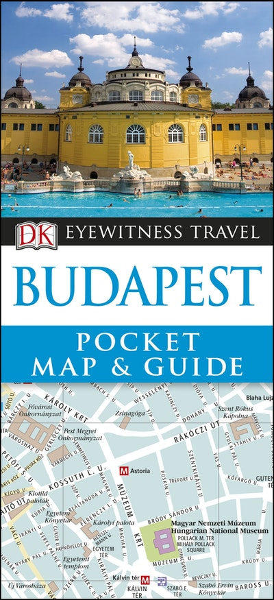 Budapest Eyewitness Pocket Map And Guide
