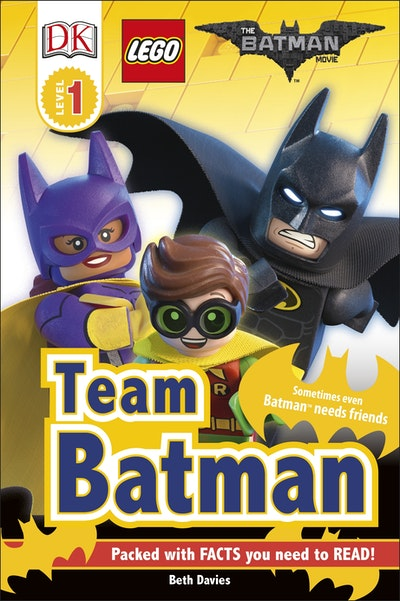 DK Reader: LEGO® Batman Movie: Team Batman