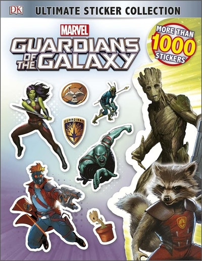 Marvel Guardians Of The Galaxy: Ultimate Sticker Collection