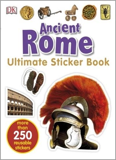 Ancient Rome: Ultimate Sticker Book