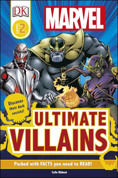 DK Reader: Marvel: Ultimate Villains