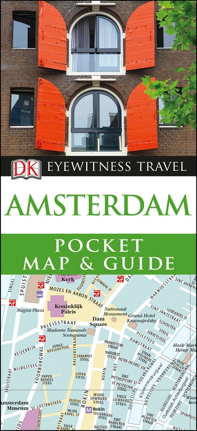 Amsterdam: DK Eyewitness Pocket Map and Guide