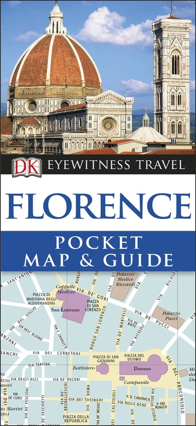 Florence: DK Eyewitness Pocket Map and Guide