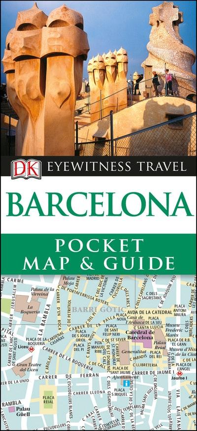 DK Eyewitness Pocket Map And Guide Barcelona