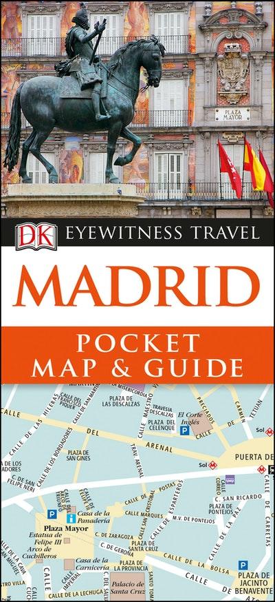Dk Eyewitness Pocket Map And Guide Madrid