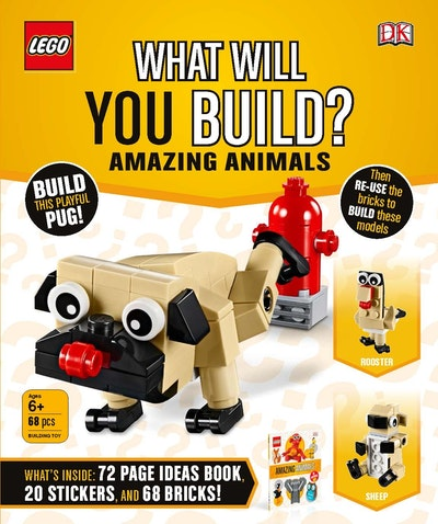 LEGO What Will You Build? Amazing Animals