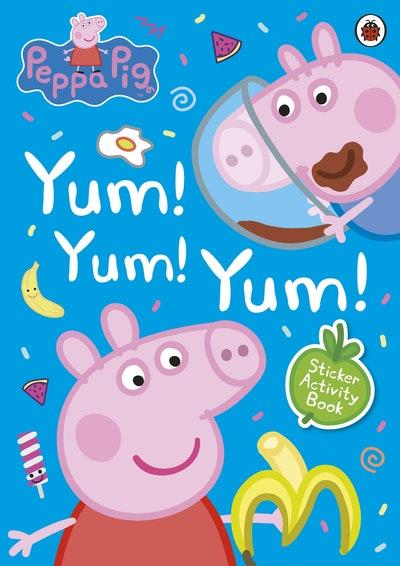 Peppa Pig Yum, Yum, Yum! Sticker Scenes
