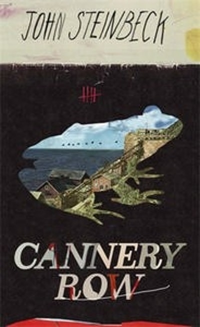 Book Cover:  Cannery Row