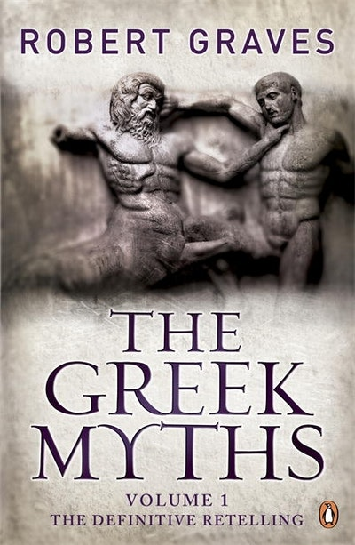 Book Cover:  Greek Myths: Vol. 1, The
