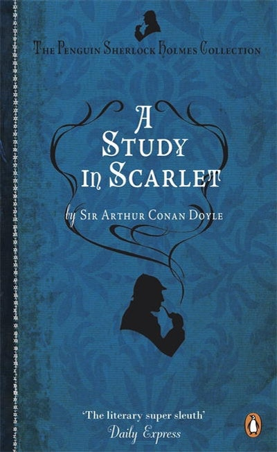 Book Cover: A Study in Scarlet