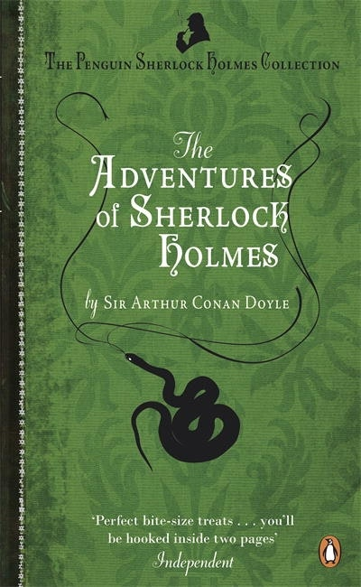 Book Cover: The Adventures of Sherlock Holmes