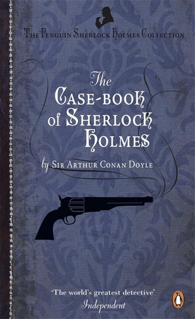 Book Cover: The Case-Book of Sherlock Holmes