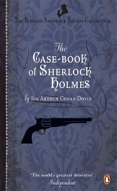 Sherlock Holmes Book Cover Art : The case book of sherlock holmes penguin books new zealand