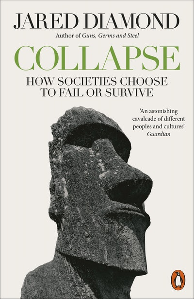 Book Cover:  Collapse: How Societies Choose to Fail or Survive