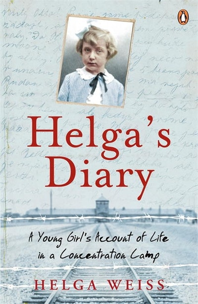 Book Cover:  Helga's Diary: A Young Girl's Account of Life in a Concentration Camp