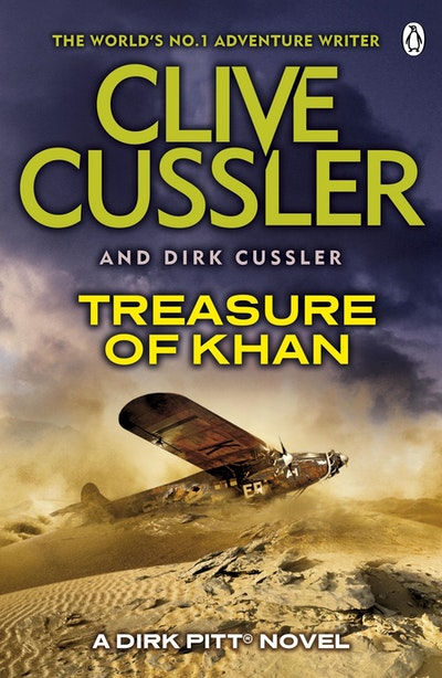 Book Cover:  Treasure of Khan: A Dirk Pitt Adventure