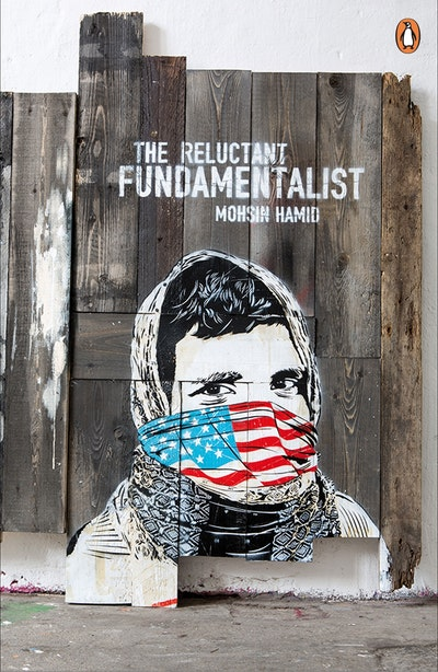 Book Cover: The Reluctant Fundamentalist: Penguin Street Art