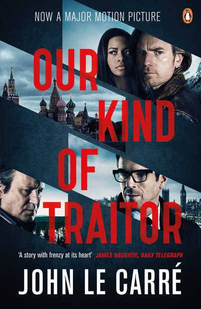 Book Cover:  Our Kind of Traitor film tie in