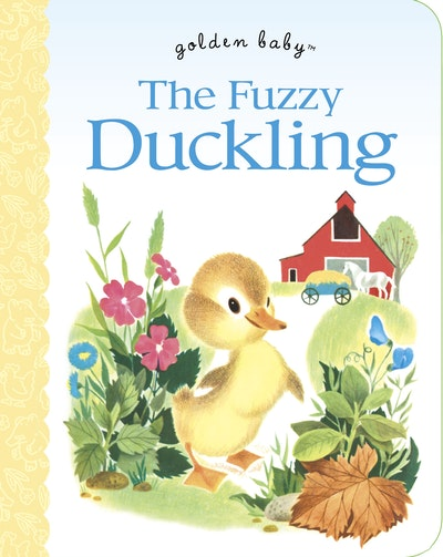 Fuzzy Duckling Board Book